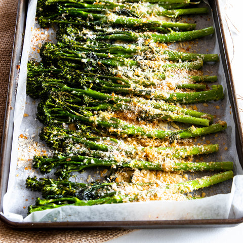 Cheesy Broccolini
