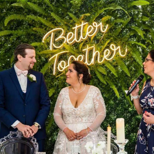 Better together wedding neon sign custom neon sign LED