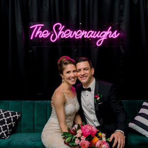 Custom Neon Signs for Wedding - MK Neon