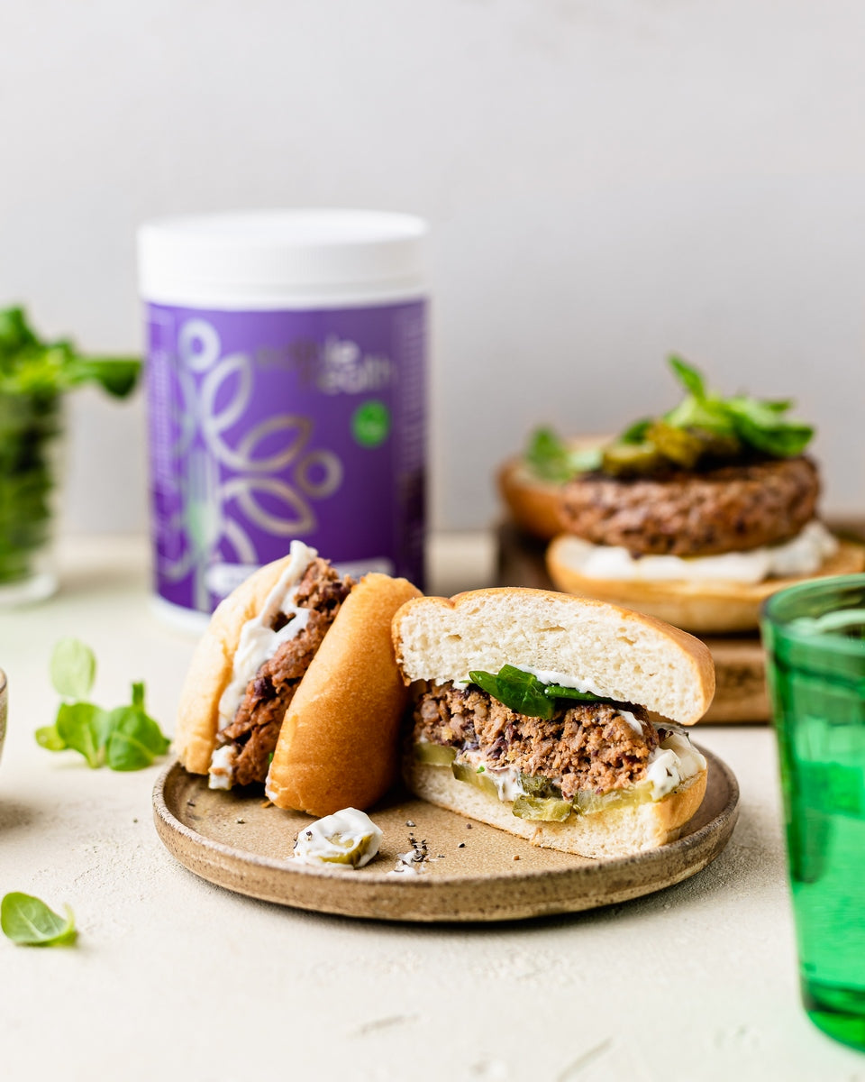 Beef and Kidney Bean Burger Recipe