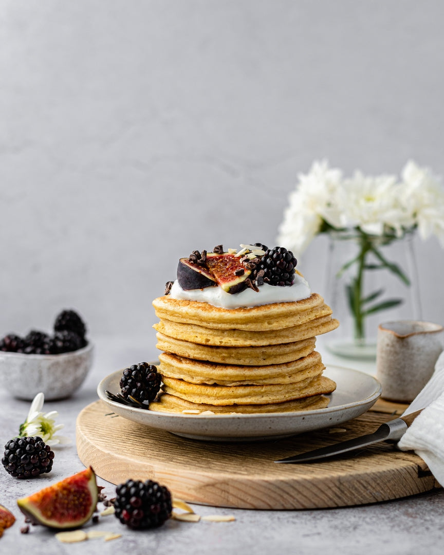 Collagen Greek Yogurt Oat Pancakes Recipe