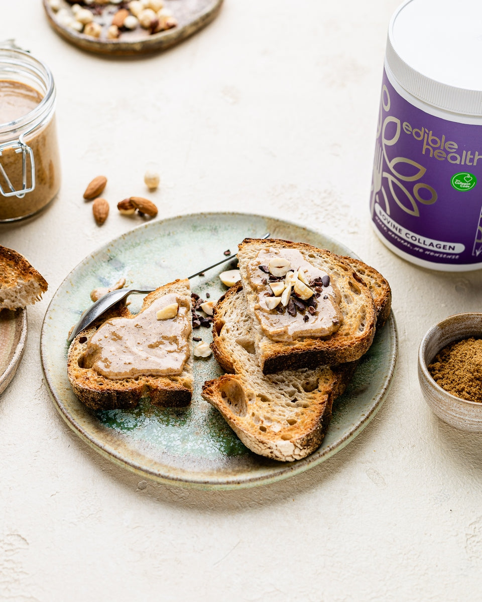 Homemade Nut Butter with Collagen