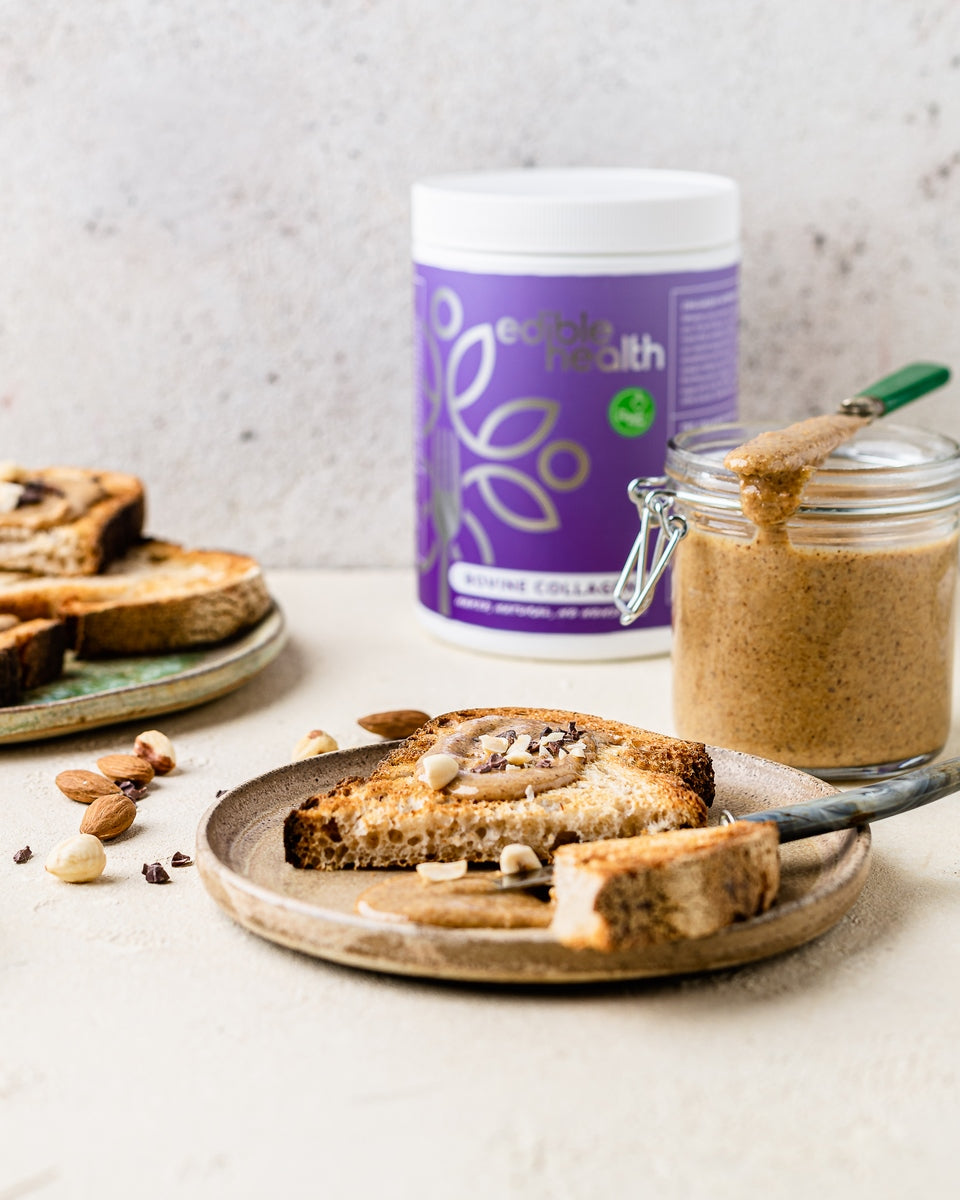 Homemade Nut Butter with Collagen Recipe