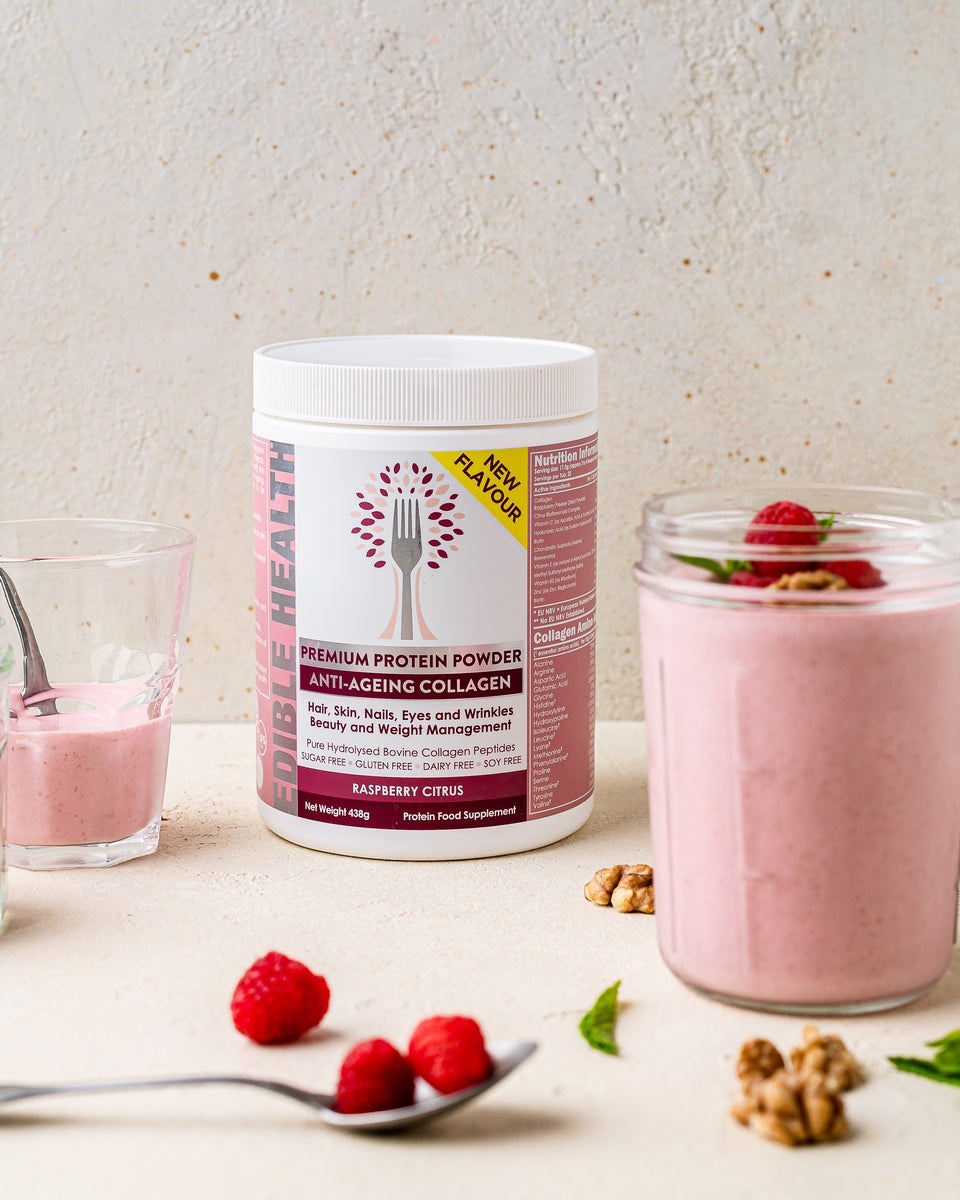Raspberry Smoothie For Clear Skin