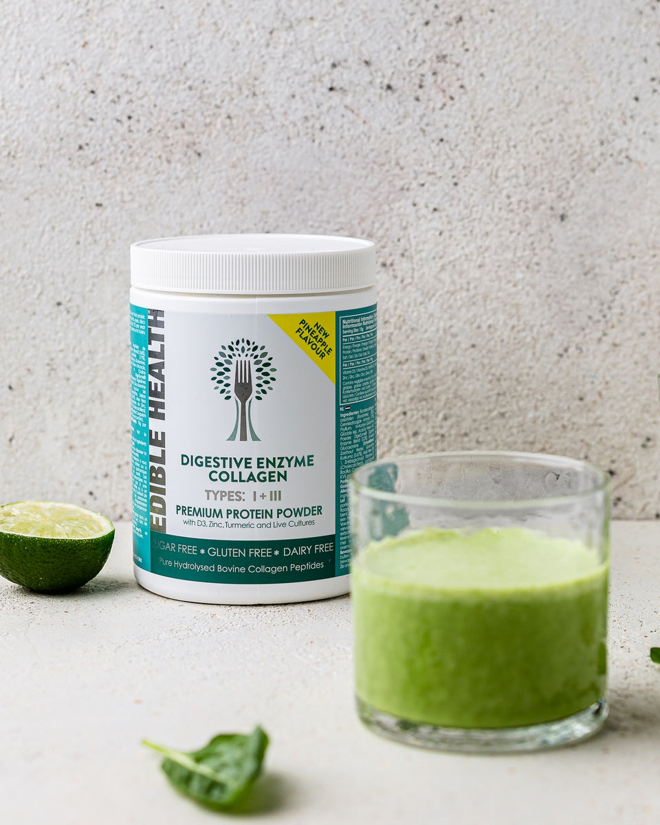 green smoothie recipe for gut health