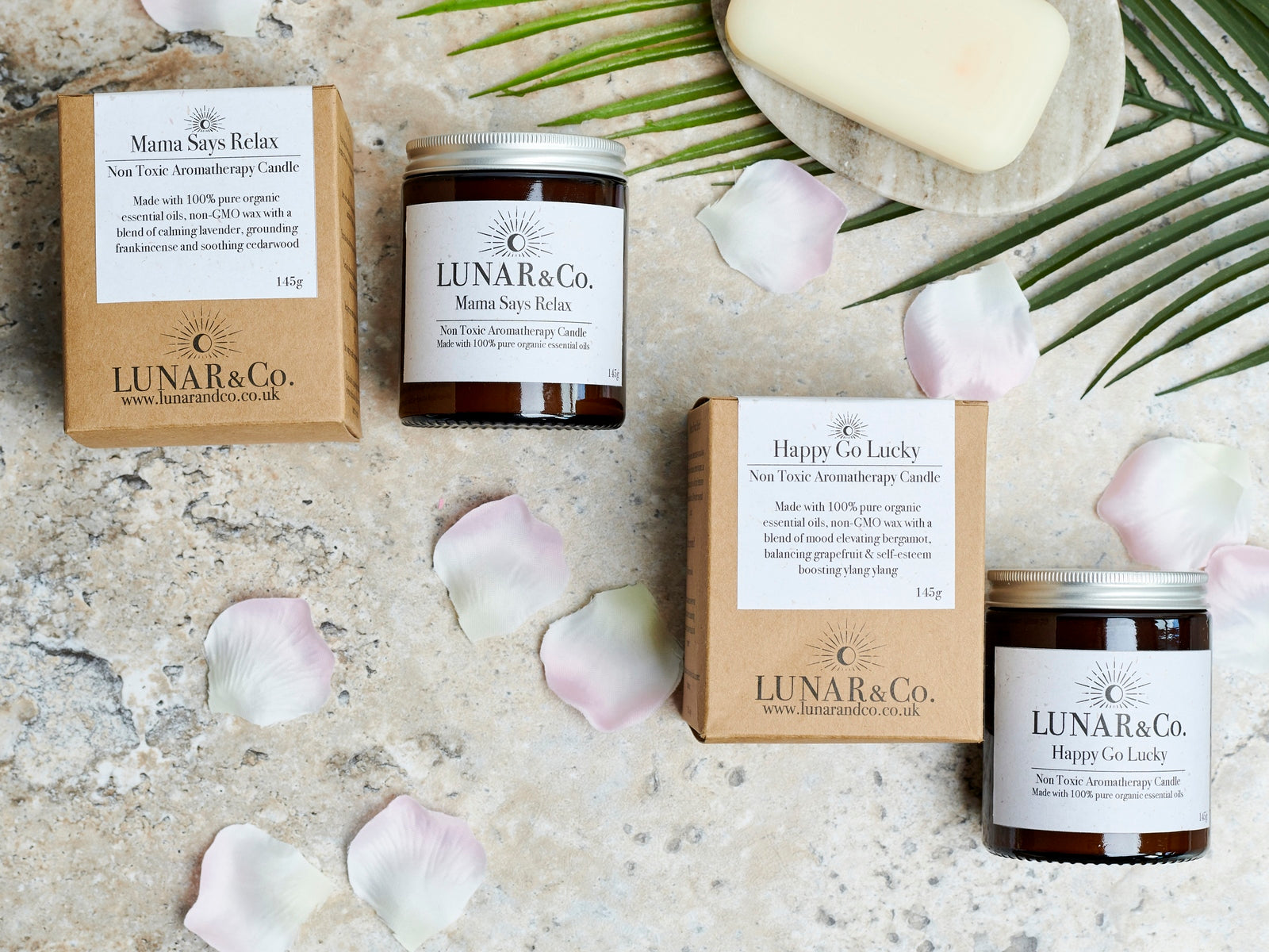 Lunar&Co. aromatherapy candles