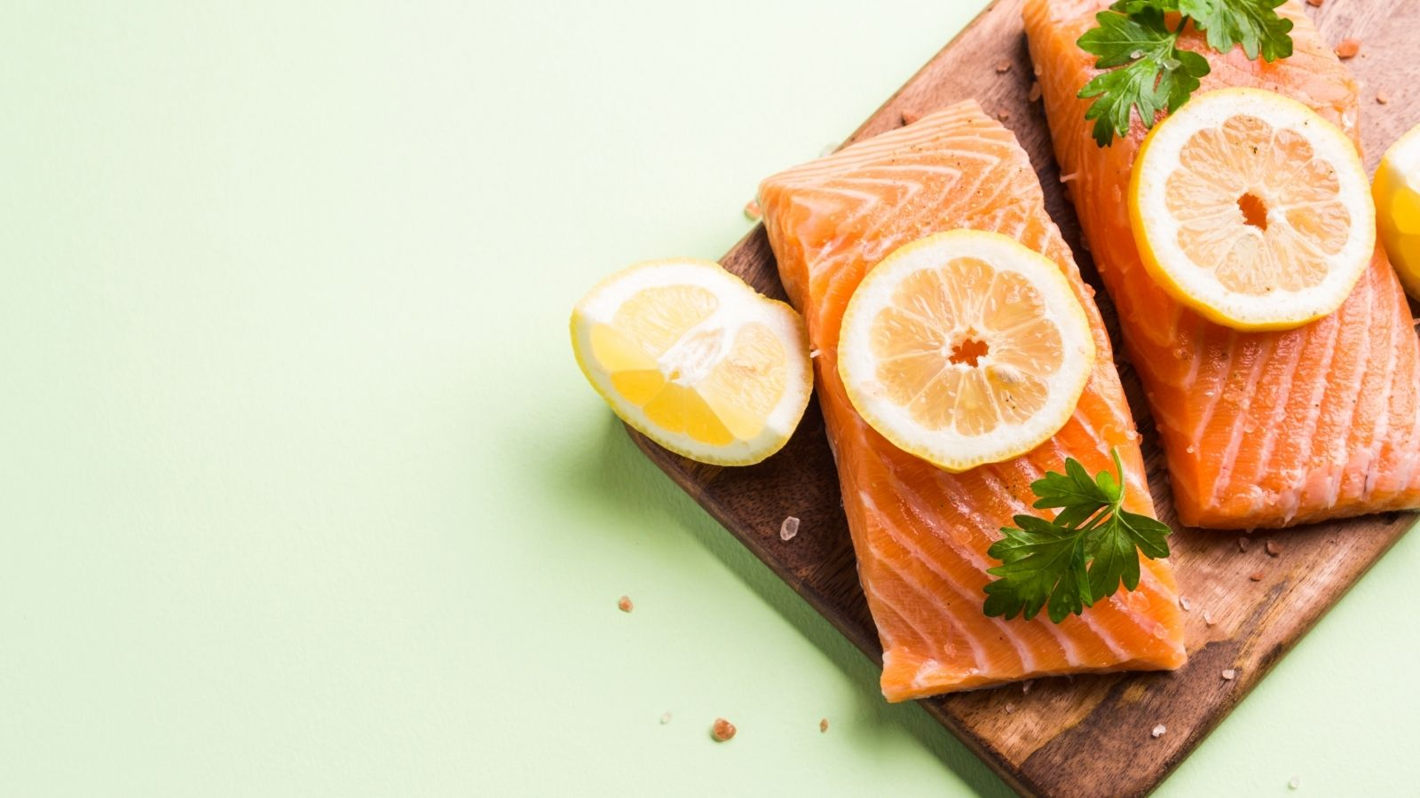 salmon and fatty fish for hair