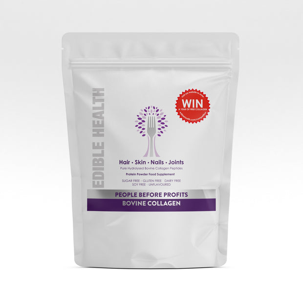 <h1>Hydrolysed Bovine Collagen Powder 400g Eco Refill Pouch</h1>