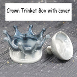 Princess Crown Storage Box Epoxy Resin Mold