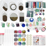 39pcs Epoxy Resin Jewelry Casting Kit