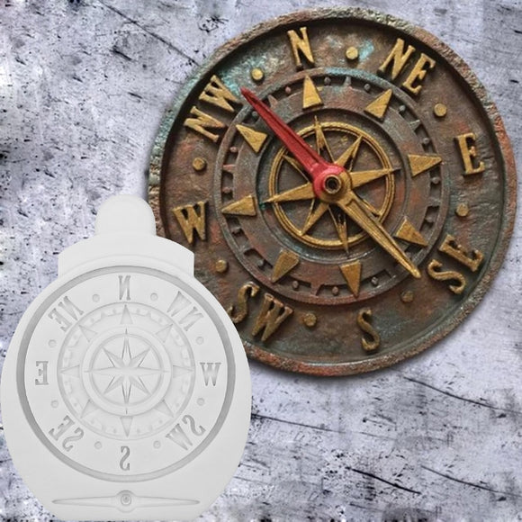 Compass Decoration Mold