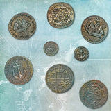 Treasure Coins Decorating Mold
