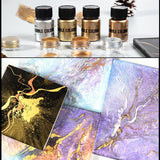 Metallic Gold Pigment Color for Epoxy Resin