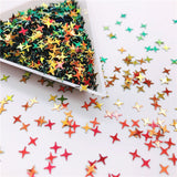 Colorful Halo Star Confetti Holographic Glitter Sprinkle for Resin Crafts
