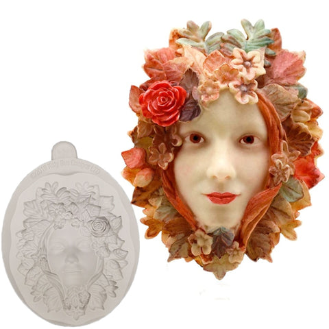 Flower Woman Decorating Mold
