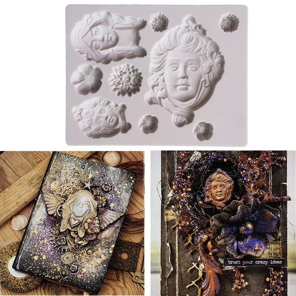 Art Nouveau Decorating Mold
