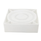 3 Round Ring Layer White Silicone Mold - MsDIYSupplies