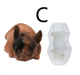 3D Dog Mousse Cake Silicone Mold - MsDIYSupplies