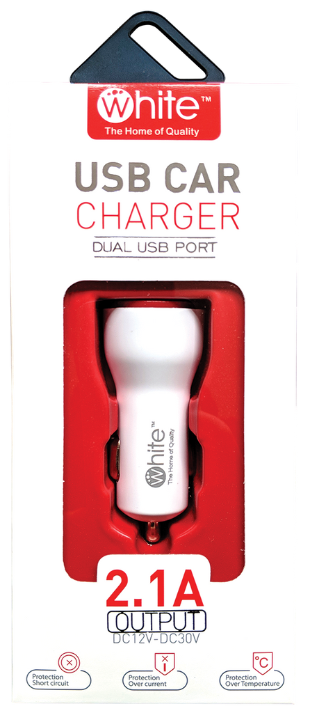 Car Charger (Dual USB Ports)