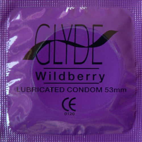 Glyde Ultra Wildberry kondomer 100 stk. - Hvornum