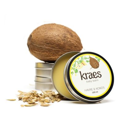 KRAES Baby balm Havre & kokos 100 ml