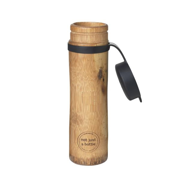 Not Just Bamboo Drikkeflaske - Sport Gravity Water Sort