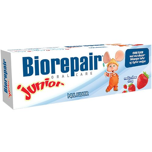 BioRepair Junior - Tandpasta - Jordbærsmag - 50 ml