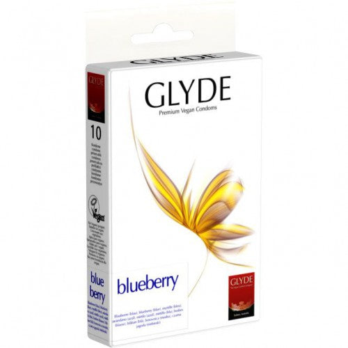 Glyde Ultra Blueberry Kondomer 10 stk. - Hvornum