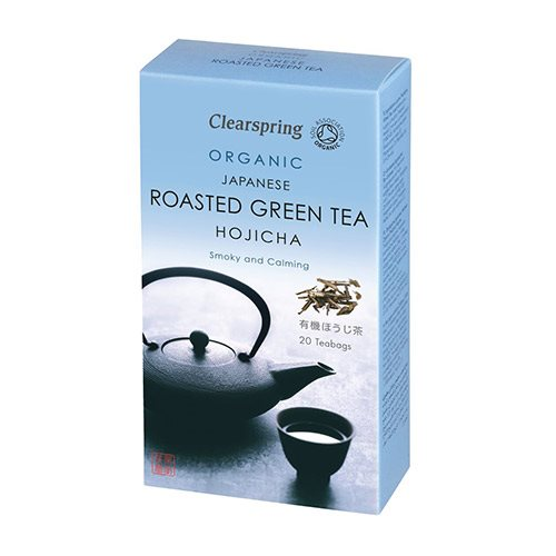 Clearspring - Roasted green tea - Hojicha - 20 te poser
