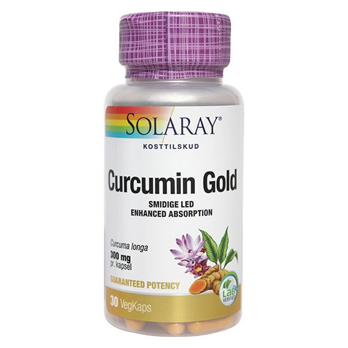 Solaray Curcumin Gold 30 vegan kap