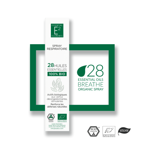 E2 Essential Elements - Respiratory Room Spray 100 ml