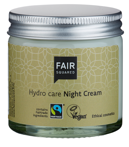 Fair Squares Argan Hydro Care Night Cream - Zero Waste 50 ml