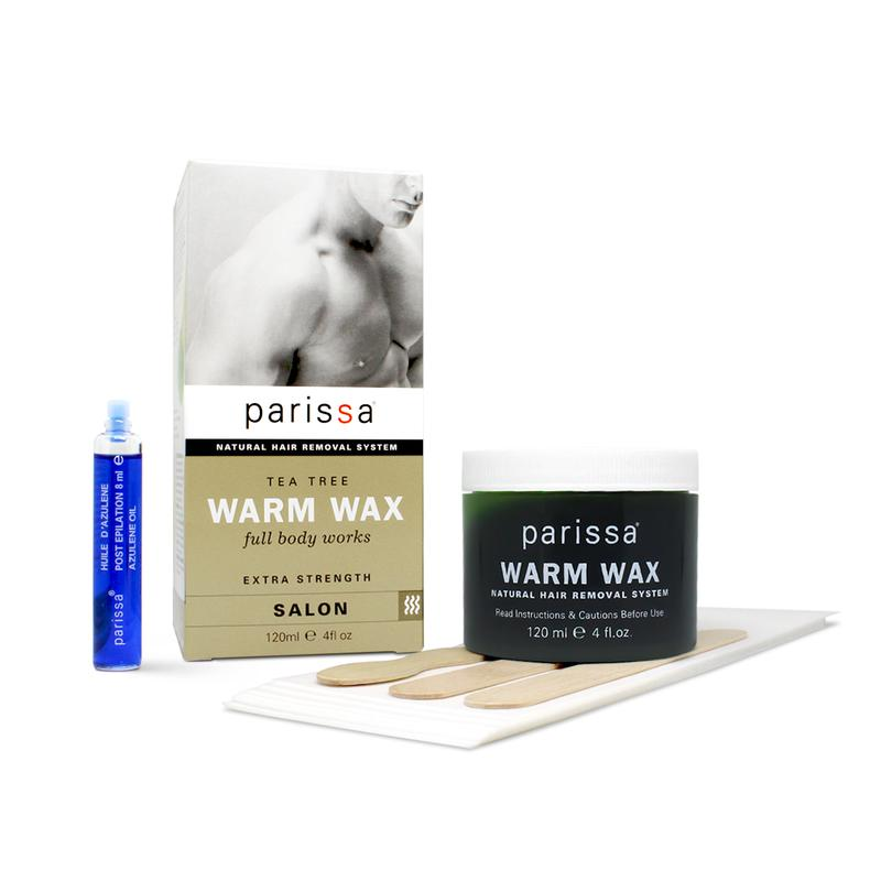 Parissa Mens Warm Wax - Whit Tea Tree 120 ml