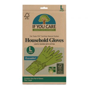 If You Care - Household Gloves - Rengørings hansker - str L.
