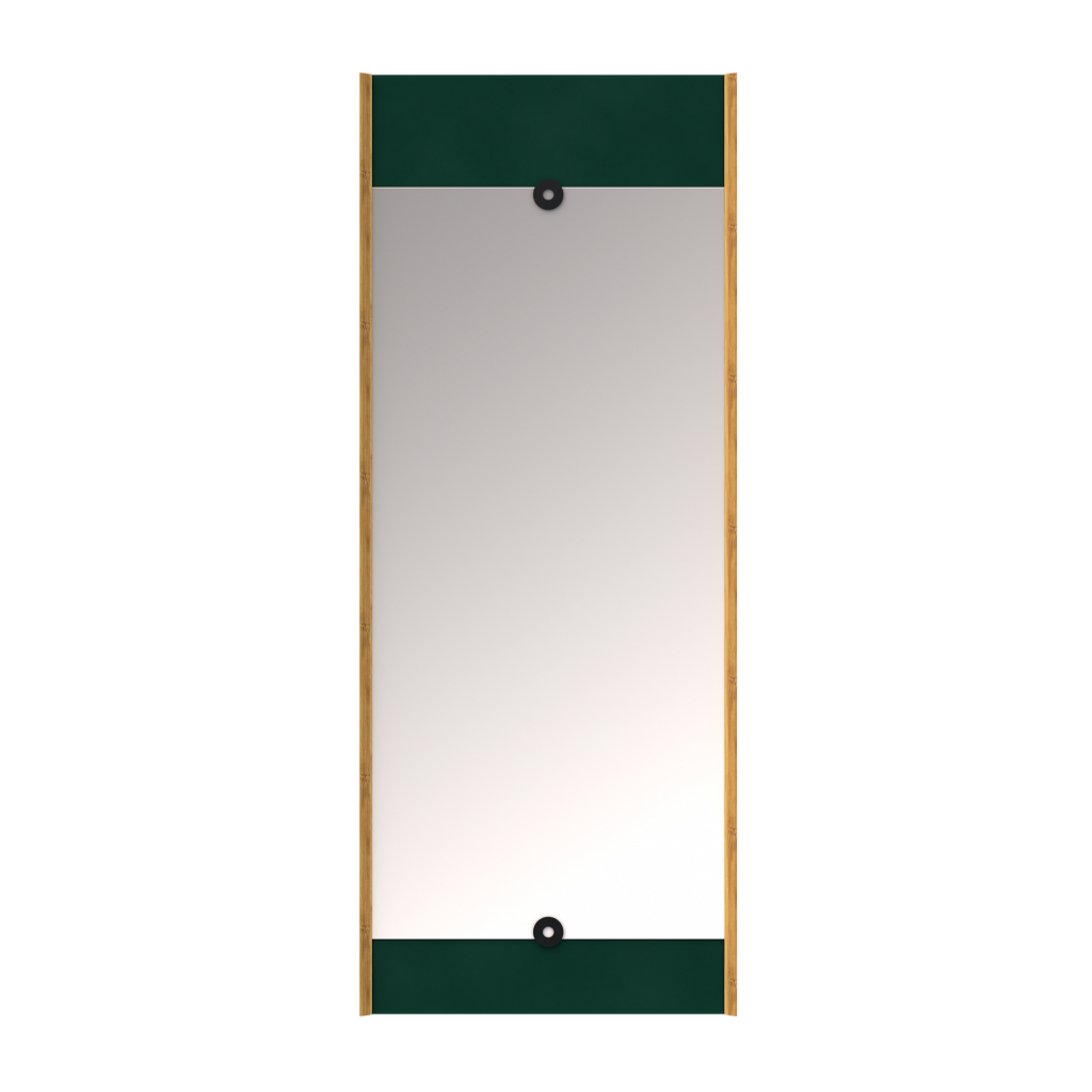 We Do Wood Layer Mirror - Green 1 stk.