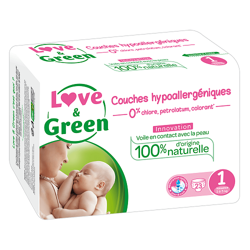 Love And Green Newborn Bleer 2-5 kg