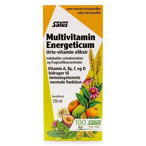 Salus Multivitamin Urte eliksir 250 ml.
