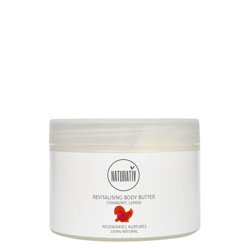 Naturativ Revitalising Body Butter 250 ml - Hvornum