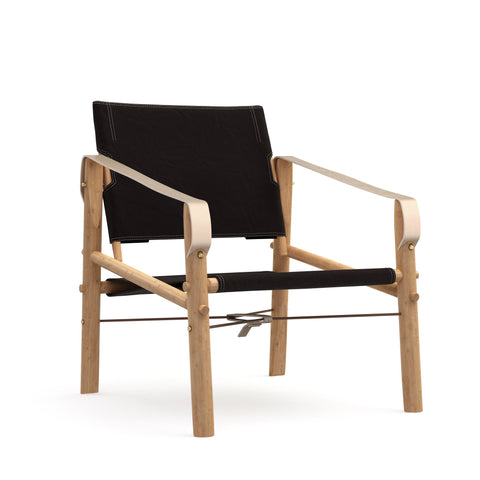 We do wood - Nomad Chair - Sort canvas