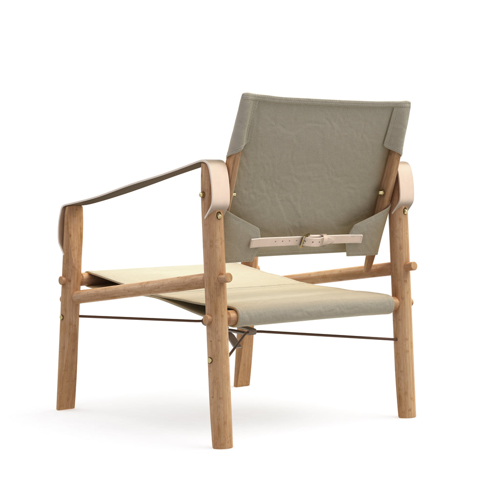 We do wood - Nomad Chair - Natural canvas