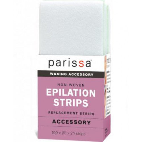 "Parissa Epilation Strips Small 5 ""x2"" - Hvornum"