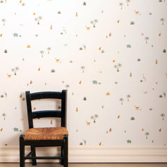 Roommate Tropical Wallpaper - Hvornum