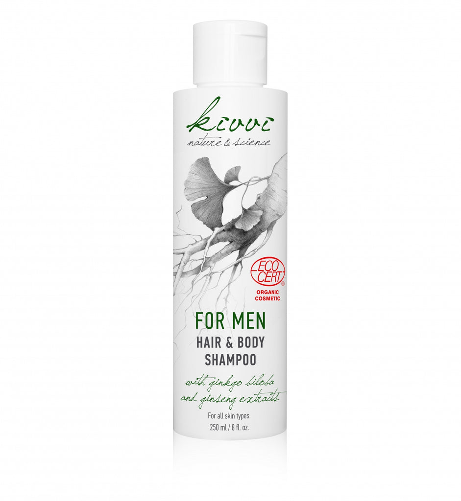 Kivvi Hair & Bodyshampoo For Men 250 ml