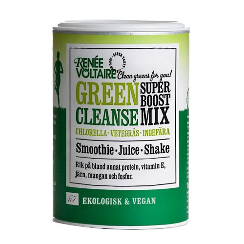 Renée Voltaire Super Boost Mix Green Cleanse 100 g - Hvornum