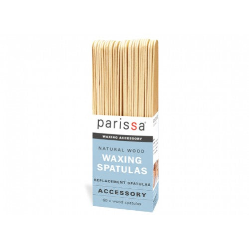 Parissa Professional Wooden Spatulas Super Pack 60 stk.