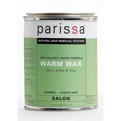 Parissa Profesional - Warm Wax Green 480 ml - Hvornum
