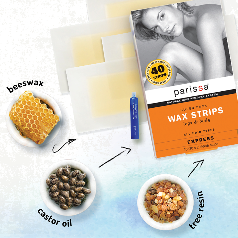 Parissa Wax Strips Super Pack
