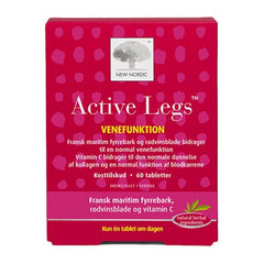 New Nordic Active legs 60 tabletter - Hvornum