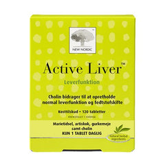 New Nordic Active Liver 120 tabletter - Hvornum