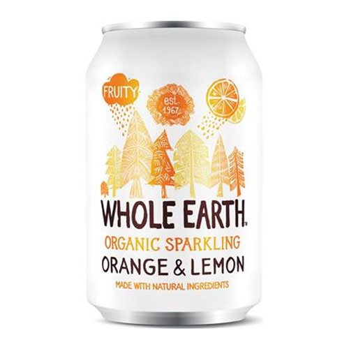 Whole Earth Appelsin & Citron Sodavand 330 ml